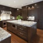 Tủ bếp gỗ Veneer Ash đẳng cấp