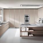 Mẫu sản phẩm tủ bếp nhôm kính phong cách Châu Âu   TBN05